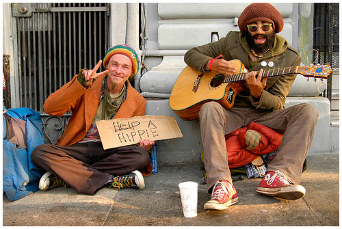 haight-hippies