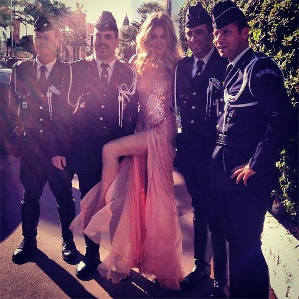 Doutzen Kroes in Cannes